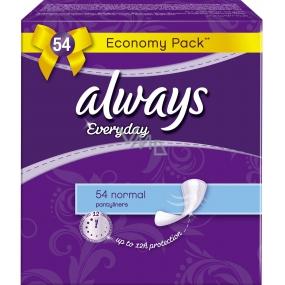 Always Everyday Normal slipové intímne vložky 54 kusov