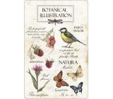 Bohemia Gifts Aromatická vonná karta Natura 10,5 x 16 cm