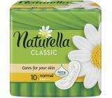 Naturella Classic Normal hygienické vložky s jemnou vôňou harmančeka 10 kusov