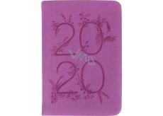 Albi Diár 2020 mini Fialový 11 x 7,5 x 1 cm