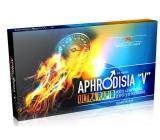 Aphrodisia V Ultra Rapid pre mužov pre skvalitnenie erekcie a zvýšenie sexuálnej túžby a výkonu, doplnok stravy 10 kapslí