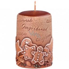Emóciám Perník Gingerbread vonná sviečka valec 50 x 80 mm