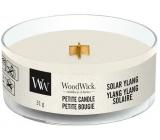 Woodwick Solar Ylang - Slnečné Ylang vonná sviečka s dreveným knôtom petite 31 g
