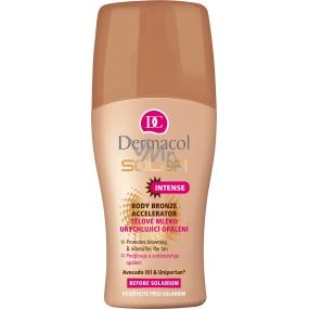 Dermacol Solar Intense telové mlieko urýchľujúci opálenie 200 ml