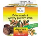 Bion Cosmetics Arganový olej & Karité extra mastný výživný pleťový krém 51 ml