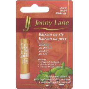 Jenny Lane Jahoda Balzam na pery pre deti 6,4 g