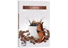 Bispol Aura Coffee - Káva vonné čajové svíčky 6 kusů