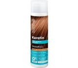 Dr. Santé Keratín Hair regeneračné a hydratačné šampón pre krehké lámavé vlasy bez lesku 250 ml