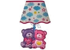 Lampička na stenu - Medvedíci