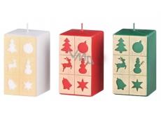 Arome Okienka vianočný motív sviečka hranol 60 x 110 mm 335 g 1 kus