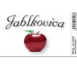 Arch Samolepka jablkovicu veľká etiketa 8,5 x 5,5 cm SK