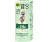 Garnier Bio Graceful Lavandin Organický levanduľový olej a vitamín E očný krém proti vráskam pre všetky typy pleti 15 ml