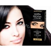 Venit Henna Profesional krémová farba na obočie Black 15 ml