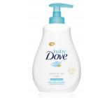 Dove Baby Rich Moisture umývací gél na telo a vlasy pre deti 200 ml