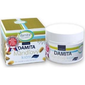 Damita Cosmetics Damita Mandlový výživný noční krém pro suchou a citlivou pleť 50 g