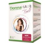 DonnaHAIR Forte 2 mesačná kúra pre zdravé a krásne vlasy 60 kapsúl