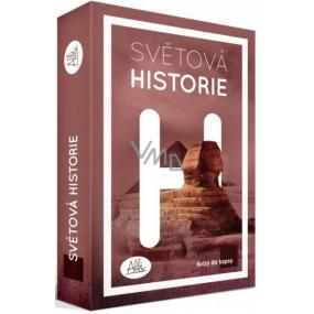 Albi Kvízy do vrecka Svetová histórie 50 kariet