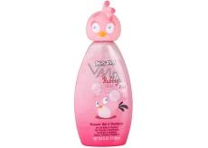 Angry Birds Cute & Bubbly Stella 2v1 sprchový gel a šampon pro děti 300 ml