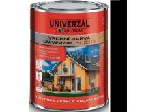 Colorlak Univerzal SU2013 syntetická lesklá vrchná farba Černá 0,35 l