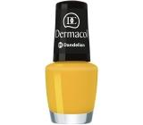 Dermacol Nail Polish Mini Summer Collection lak na nehty 01 Dandelion 5 ml
