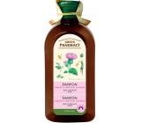 Green Pharmacy Lopuch a Pšeničné protejny šampon proti vypadávání vlasů 350 ml