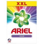 Ariel Color prací prášok na farebnú bielizeň, zachováva intenzitu farieb, funguje už pri 30 ° C 70 dávok 5,25 kg krabica