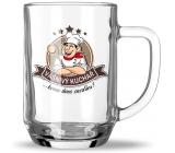 Nekupto Hobby pivné poháre Vášnivý kuchár 500 ml