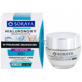 Soraya Hyaluronic Micro-Injection 60+ obnovujúci krém s transdermálnej kyselinou hyalurónovou na deň / noc 50 ml