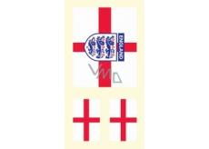 Arch Tetovací obtisky na obličej i tělo Anglická vlajka 2 motiv