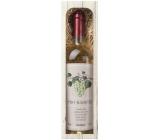 Bohemia Gifts & Cosmetics Chardonnay Pre babičku biele darčekové víno 750 ml