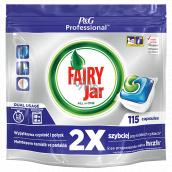 Jar Fairy Professional All in One Kapsule do umývačky riadu 115 kusov