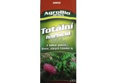 AgroBio Totálna herbicíd na ničenie burín, drevín, starých trávnikov 50 ml