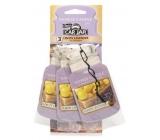 Yankee Candle Lemon Lavender - Citrón a levanduľa Classic vonná visačka do auta papierová sada 12 gx 3 kusy