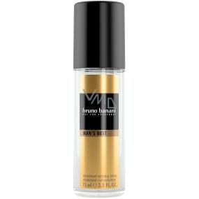 Bruno Banani Mens Best parfémovaný deodorant sklo 75 ml