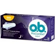 o.b. Pro Comfort Night Normal tampony 16 kusů