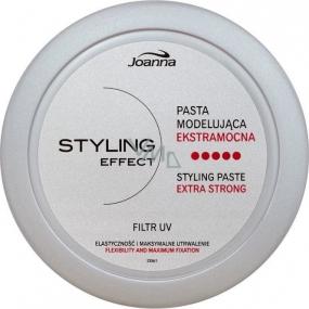 Joanna Styling Effect Styling Paste tvarovací pasta na vlasy stříbrná 90 g