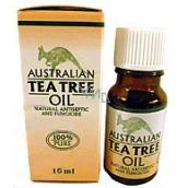 Australian Tea Tree Oil 100% čistý olej čistí pokožku od bakterií 10 ml