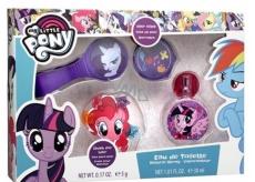 My Little Pony toaletní voda pro děti 30 ml + vlasové doplňky, dárková sada