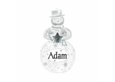 Albi Svítící vánoční ozdoba na stromek Adam 8 cm