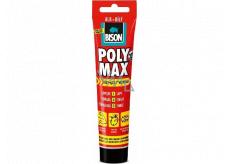 Bison Poly Max Express White rýchloschnúci univerzálny montážny tmel Biely 165 g
