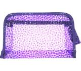 Etue Průhledná fialová 25 x 16 x 6 cm 1 kus P4289