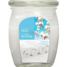 Bolsius Aromatic Cotton Fields - Bavlnené plantáže vonná sviečka v skle 92 x 120 mm 830 g, doba horenia 100 hodín