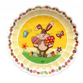 Ditipo Papierový tanier Veľkonočné Zajíček 22 cm