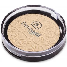 Dermacol Compact Powder zmatňujúci kompaktný púder 03 8 g