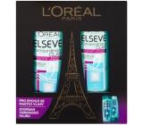 Loreal Paris Elseve Extraordinary Clay čistící šampon pro mastné vlasy 250 ml + čistící balzám pro mastné vlasy 200 ml, kosmetická sada 2017