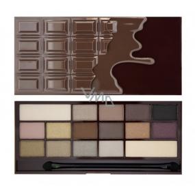 I Heart Revolution Chocolate paletka očných tieňov Smrť čokoládou 22 g