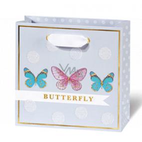 BSB Luxusná darčeková papierová taška 145 x 15 x 6 cm Dots & Mutterfly LDT 408 - CD