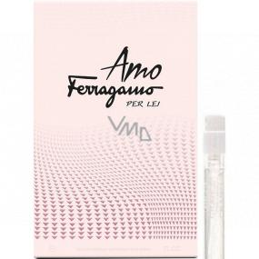 Salvatore Ferragamo Amo Ferragamo Per Lei toaletná voda pre ženy 1,5 ml s rozprašovačom, vialka