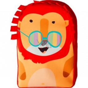 Fa Kids Pirát sprchový gél 250 ml + Schauma Kids Boy šampón na vlasy 250 ml + Vademecum Junior Jablko zubná pasta 50 ml + batôžtek Lev, kozmetická súprava pre chlapcov