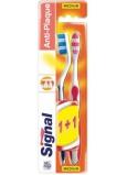 Signal Anti-Plaque strednej zubná kefka 2 kusy, duopack